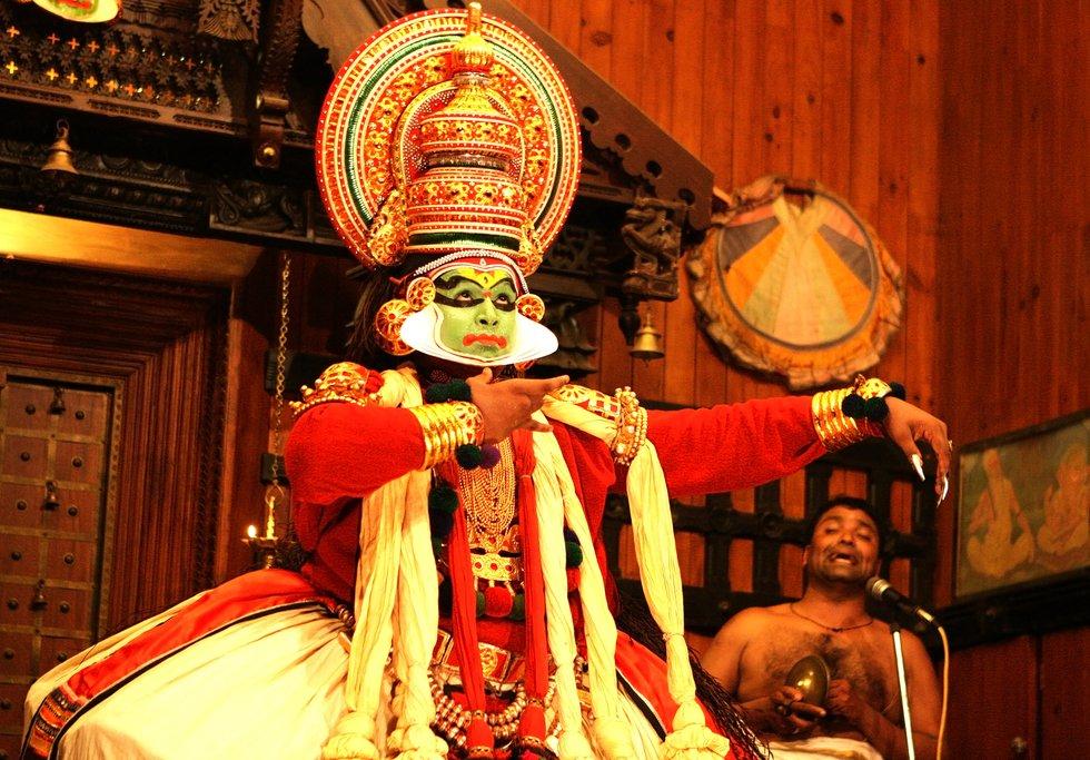 Kathakali theater performance
