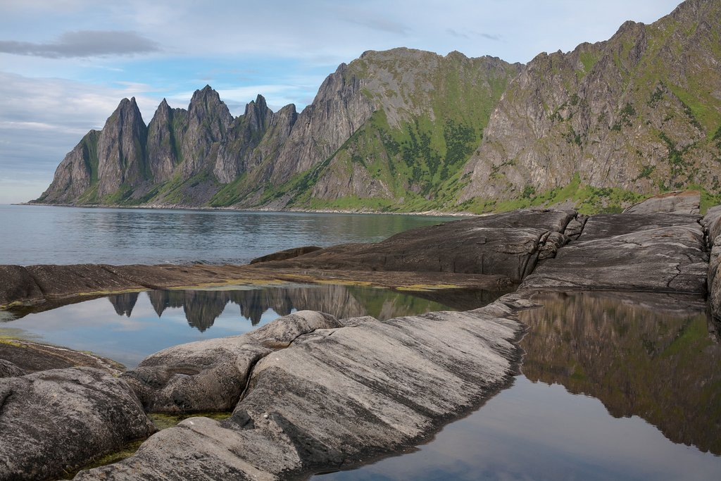 Dragon Teeth, Senja, Norway