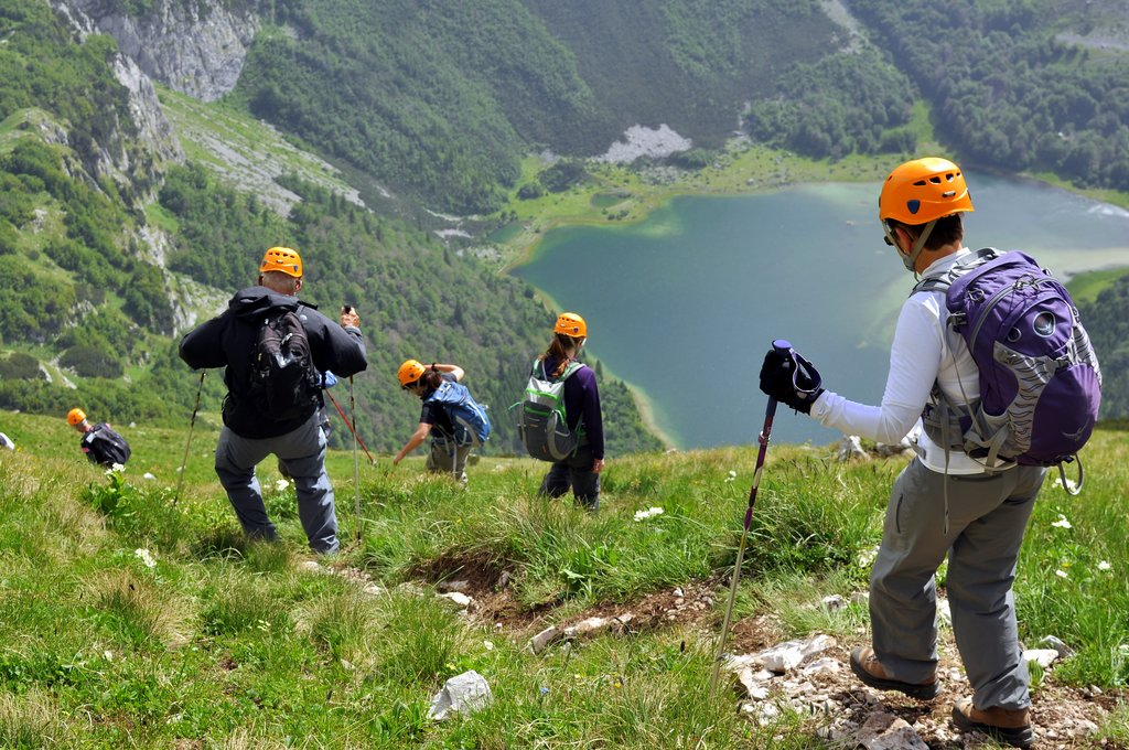 Hiking to Trnovacko Lake