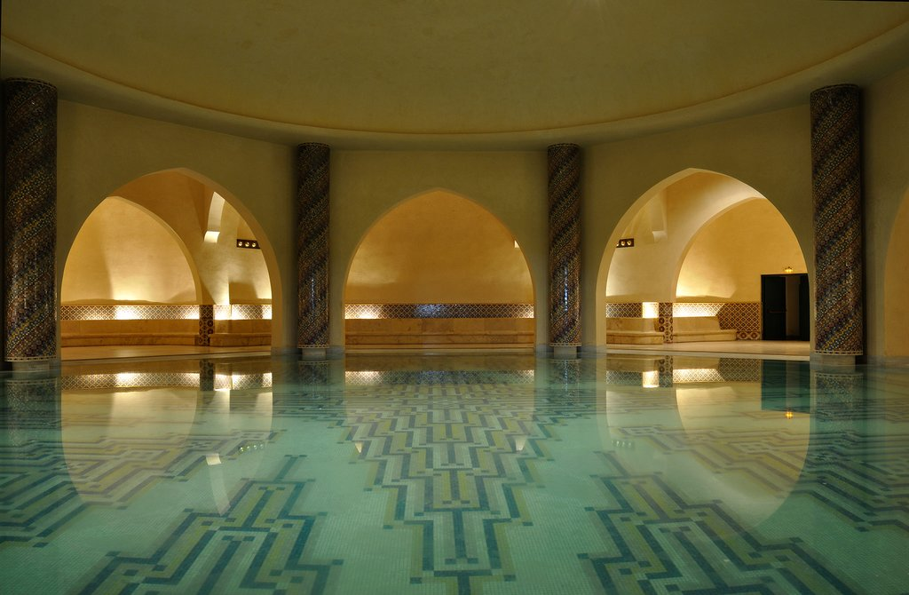 Traditional hammam in Morocco
