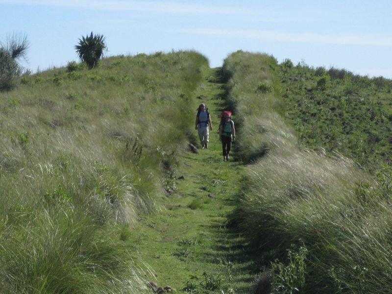 Hike the beautiful grassy trails intoXeabaj