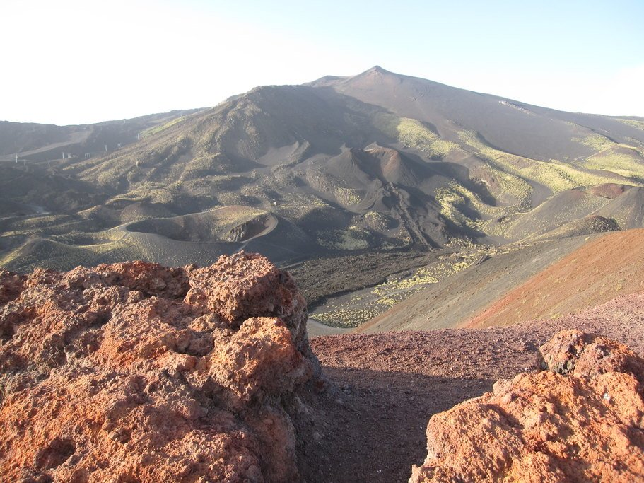 Mt. Etna offers dramatic views and an opportunity to get out and stretch your legs.