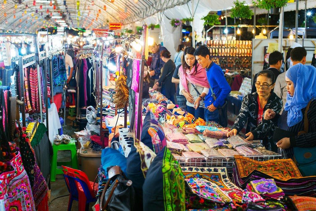 Chiang Mai street market