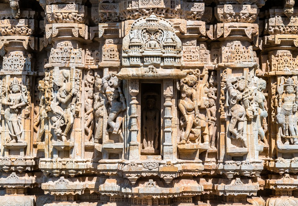 Jain Temple at Chittor Fort, Rajasthan
