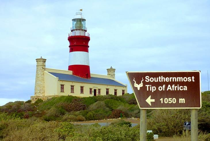 Africa's southernmost tip