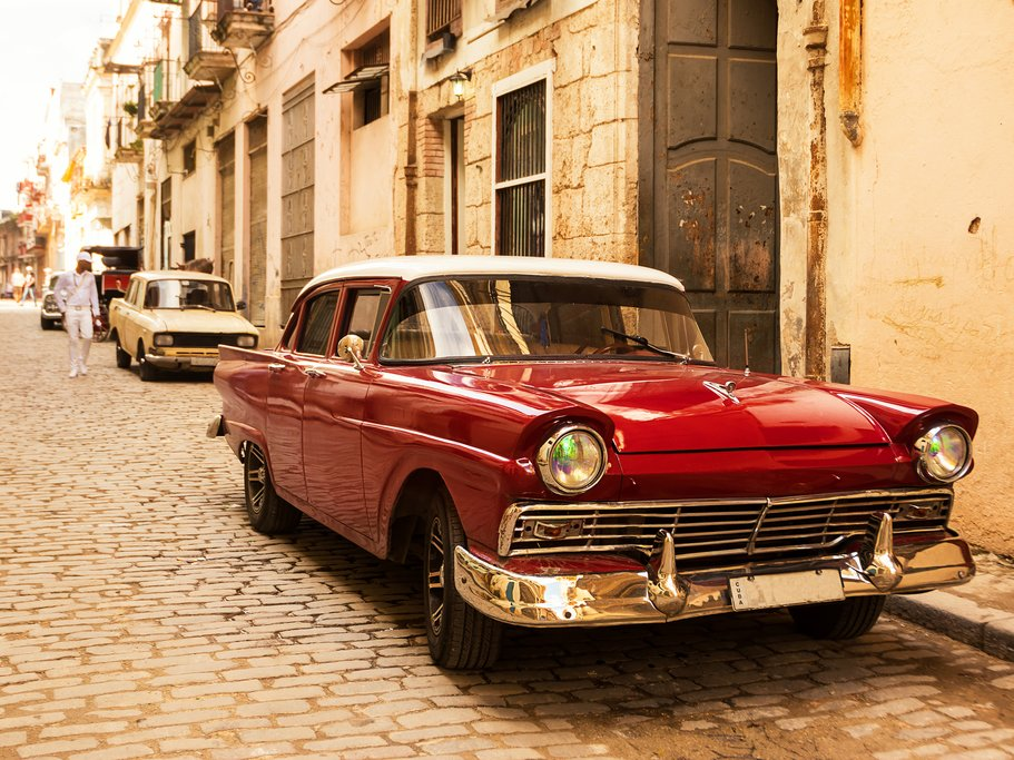 Taking a ride in one of Cuba's old American cars is a beautiful way to see Havana