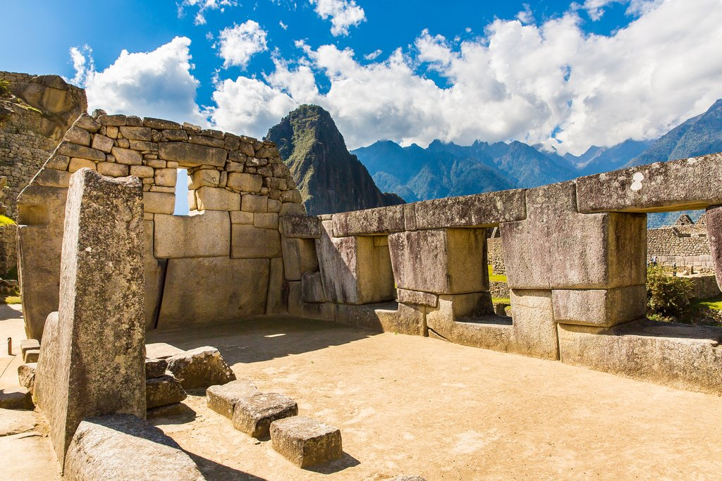 Explore the ruins at Machu picchu