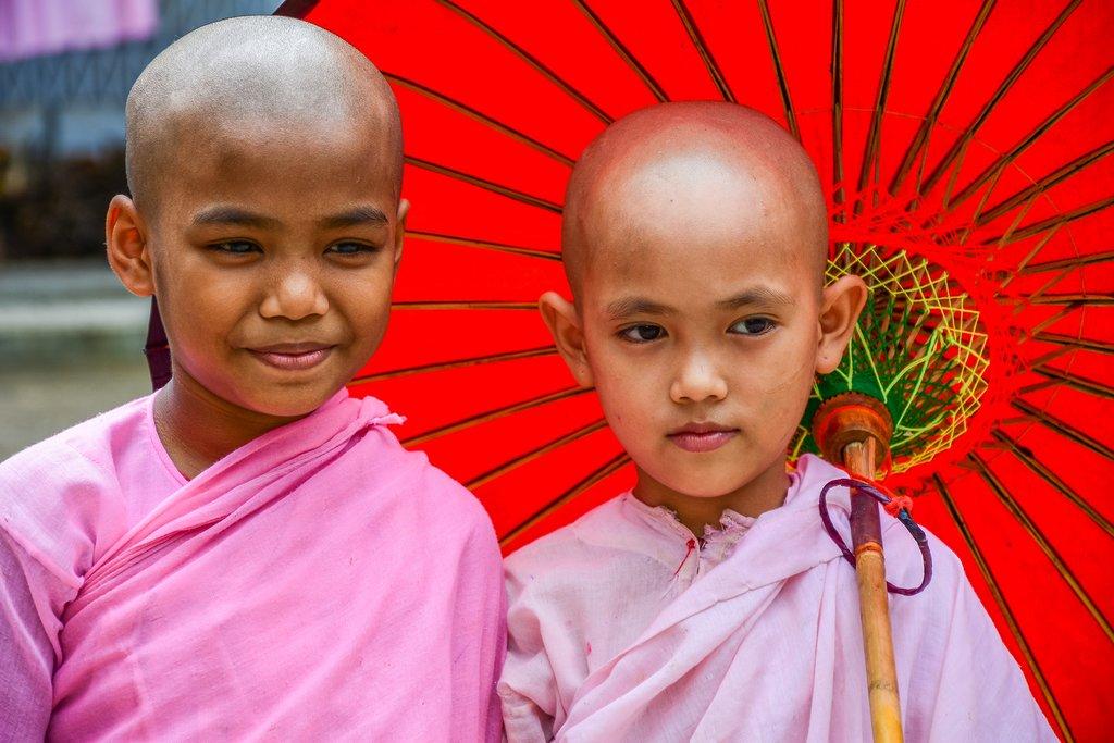 Nuns in Dawei, Myanmar