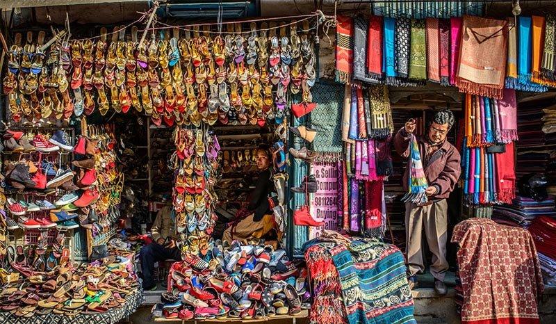 Shop for exotic trinkets in Kathmandu