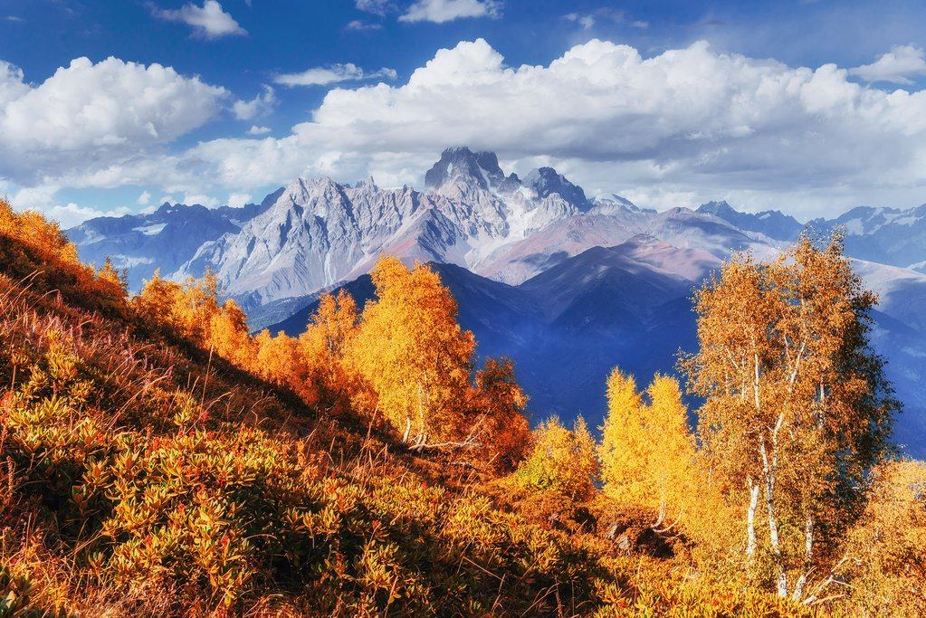 Caucasus Mountains, Giorgia