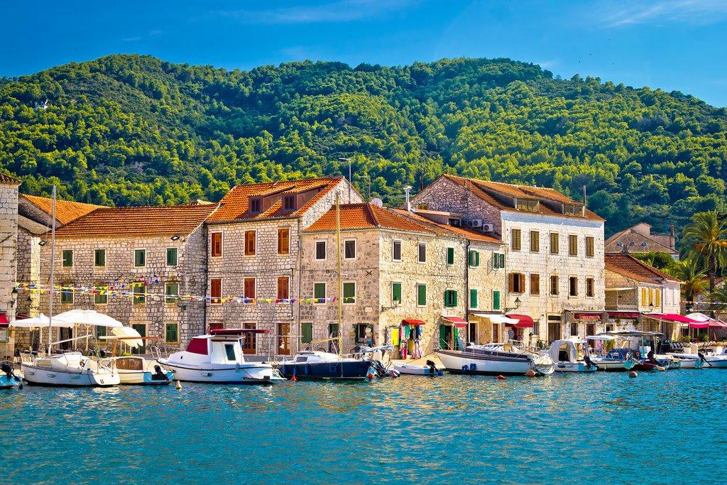 Stari Grad waterfront on Hvar Island