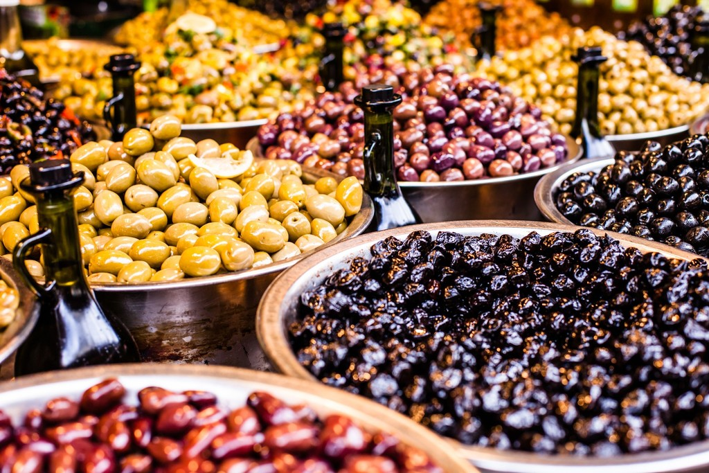 Nice's colorful market