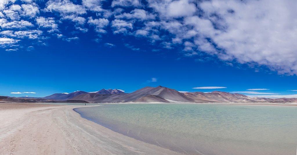 The saltwater lake of Talar