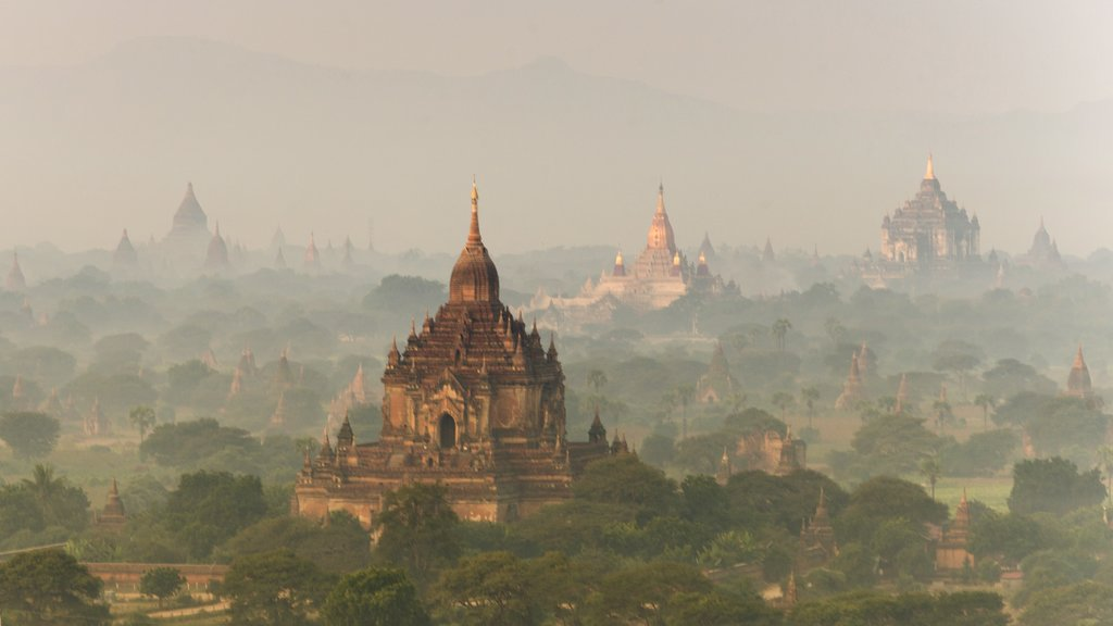 Rise early to see the temples enveloped in the morning haze