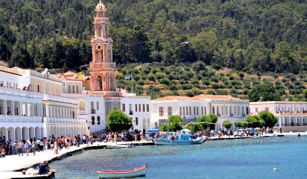 Monastery on Symi Island