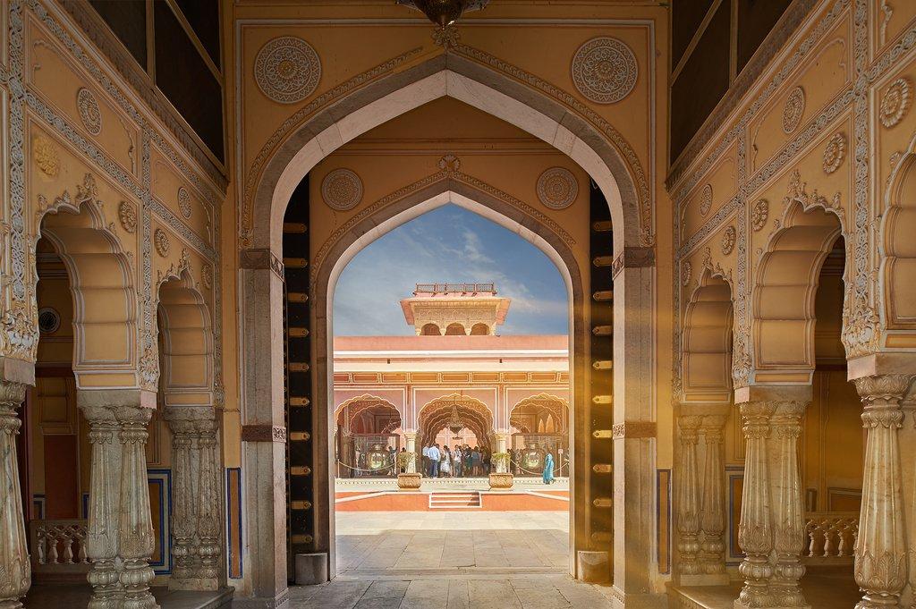 Mubarak Mahal, Jaipur's City Palace