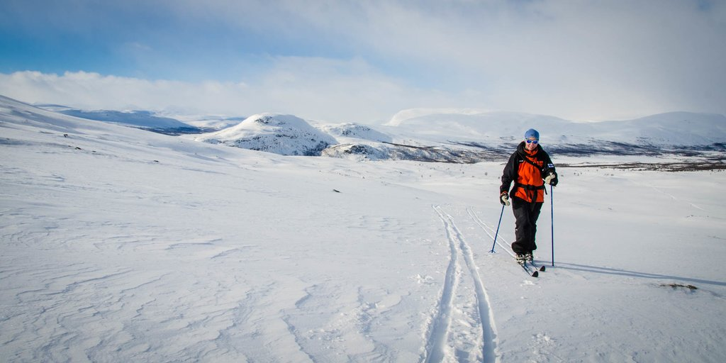 Skiing the Arctic