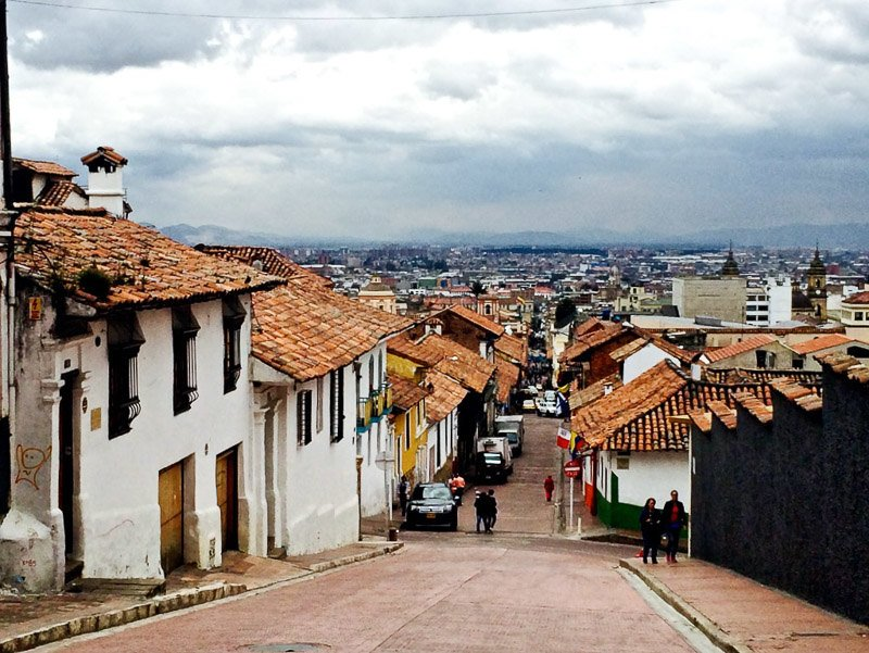 Bogotá is a vibrant city surrounded by the beauty of the Andes.