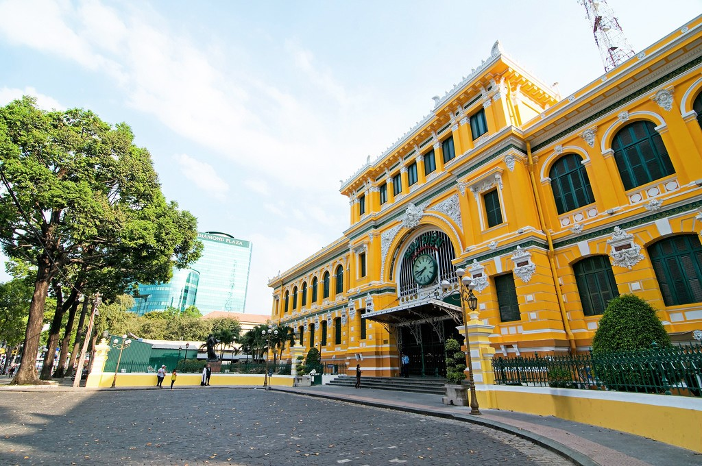 Colonial-era architecture in Ho Chi Minh City