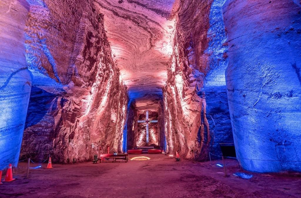 Zipaquirá's underground salt mines.