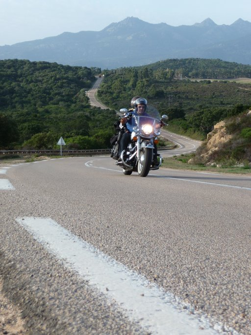 Riding the back roads of Corsica