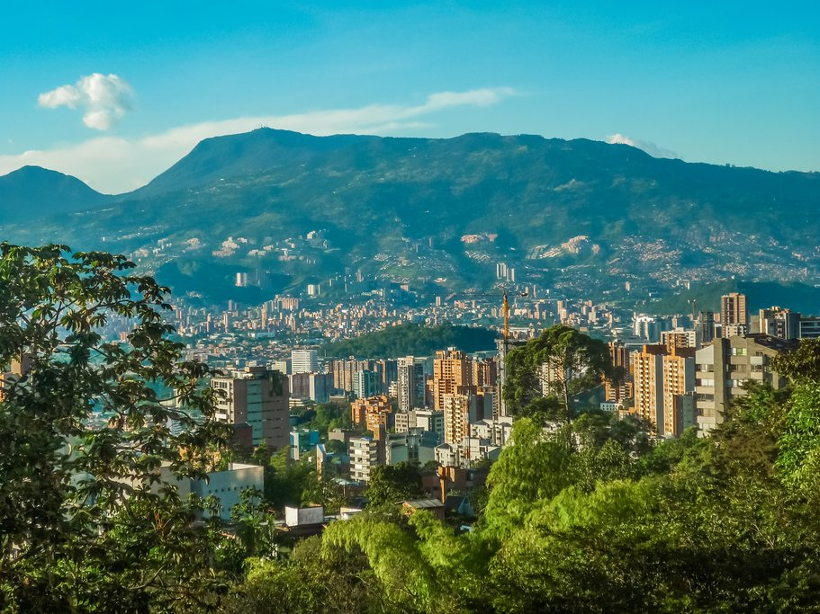 Medellín enjoys consistent, spring-like weather.