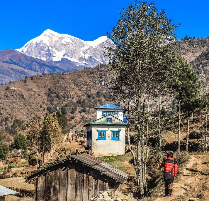 Solu Sherpa houses