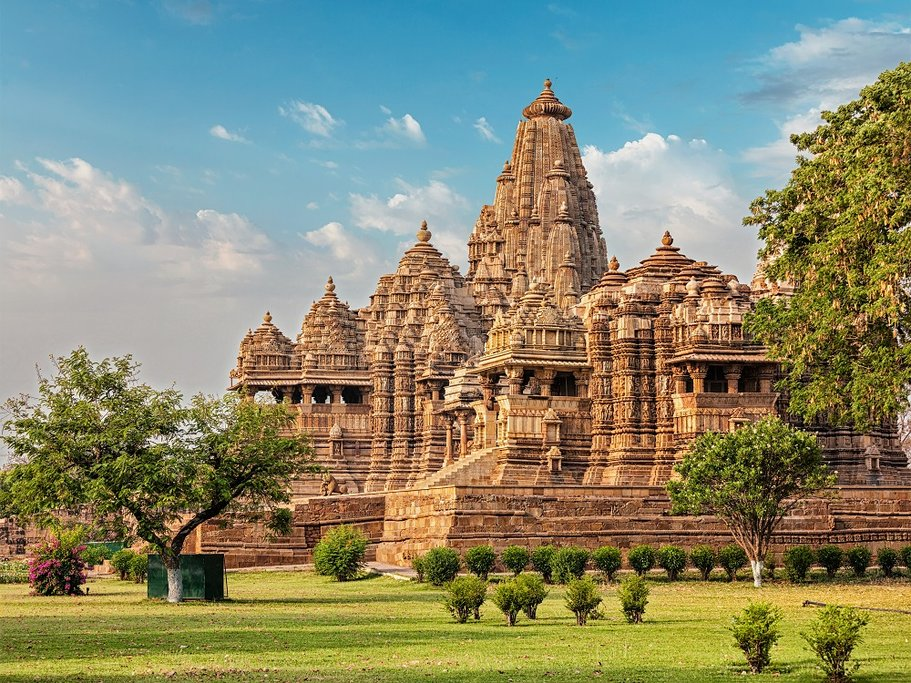 Most of the temples were built between 950 and 1050 by the Chandela dynasty, and their carvings suggest a high level of religious tolerance