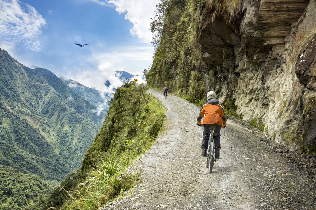 Biking the Andes