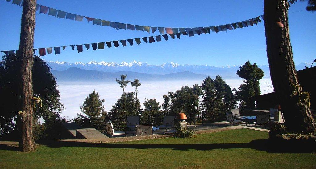 Haatiban Resort on the southwest rim of the Kathmandu valley