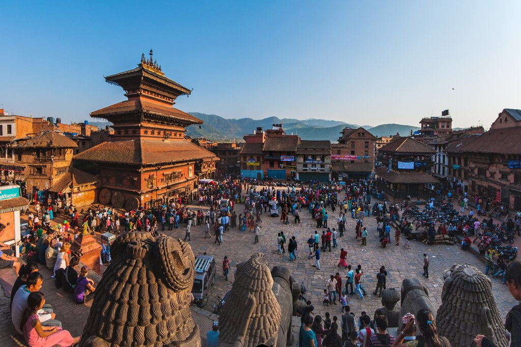 World Heritage Listed Bhaktapur