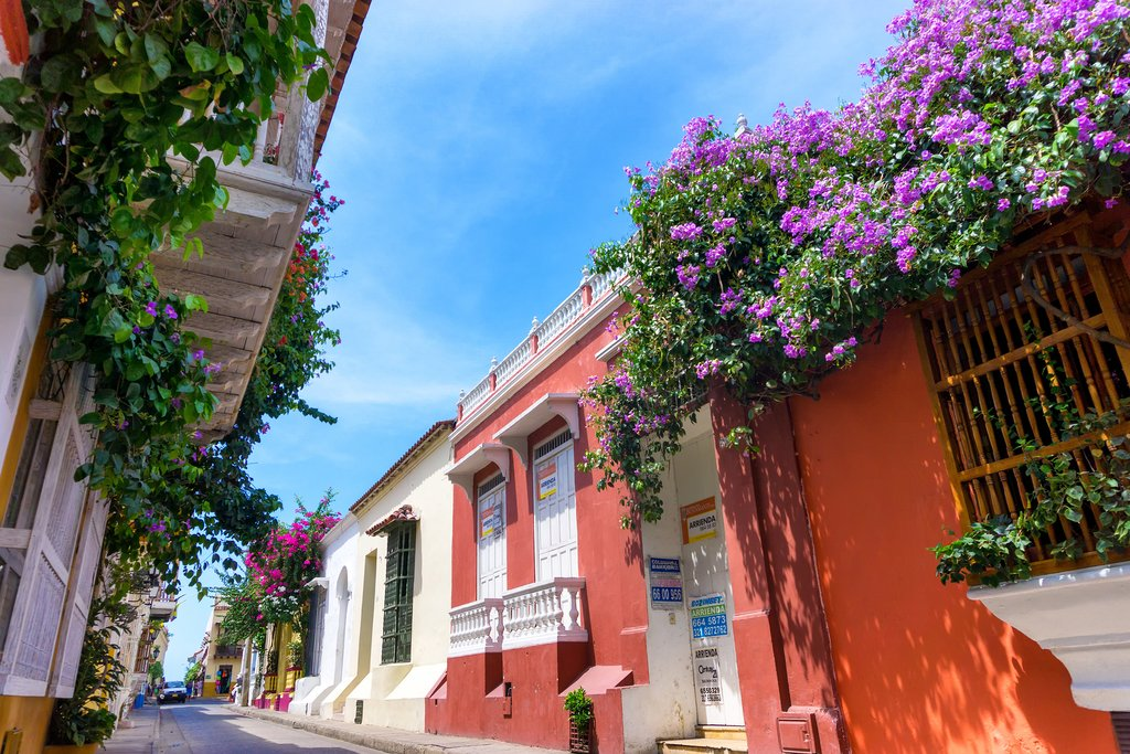 Cartagena's streets