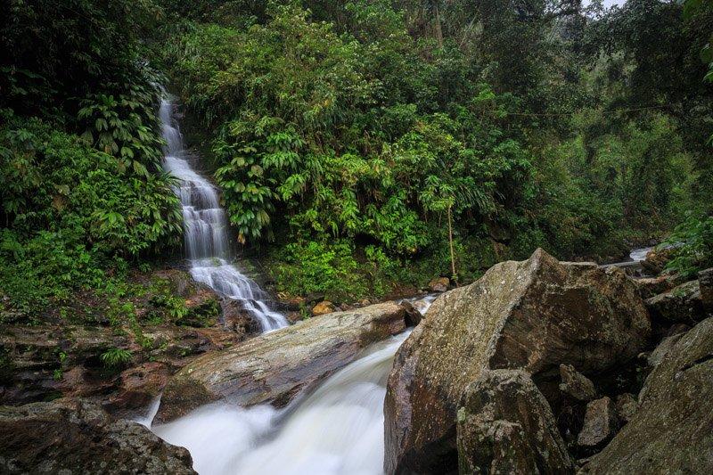 Waterfalls along the trek