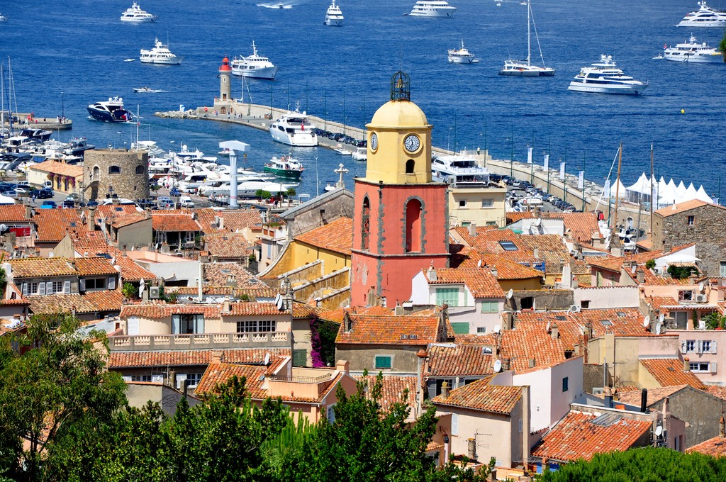 Grimaud and the Bay of Saint-Tropez
