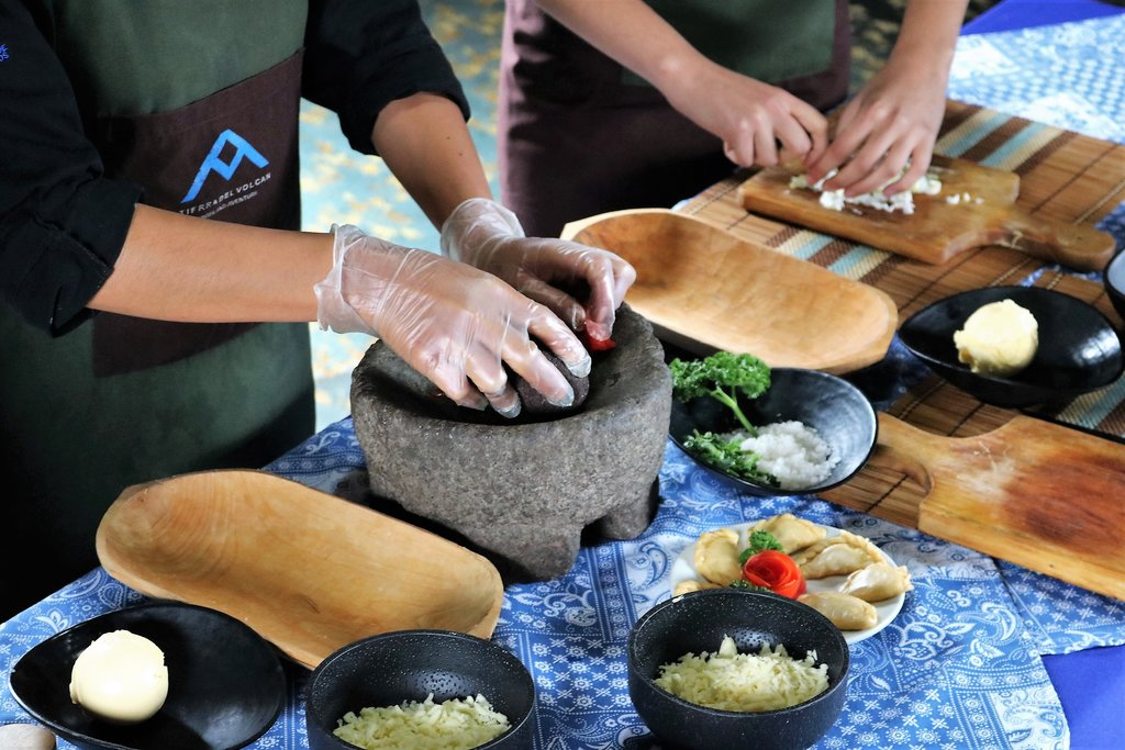 A cooking class is a great way to experience Ecuadorian cuisine.