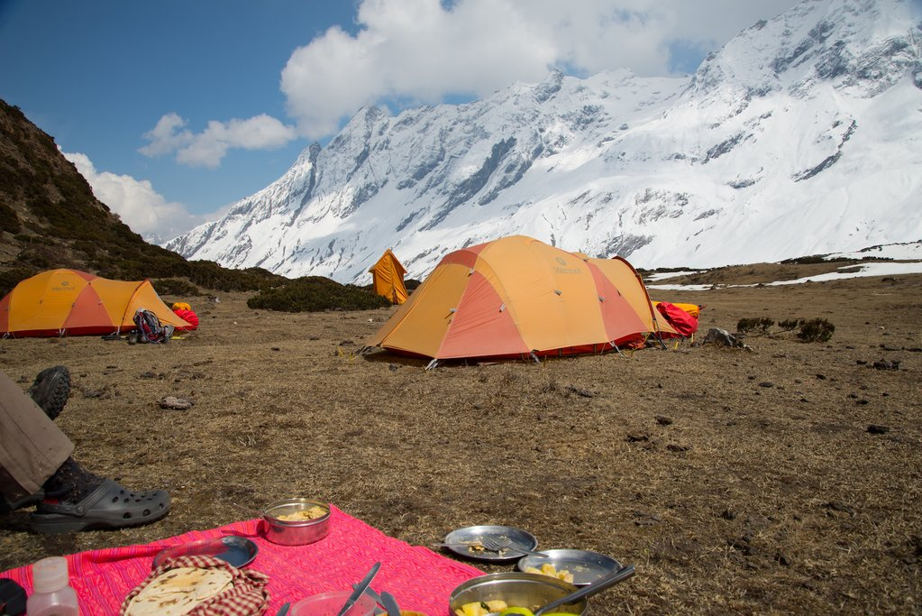 Tents at Dharamsala Camp