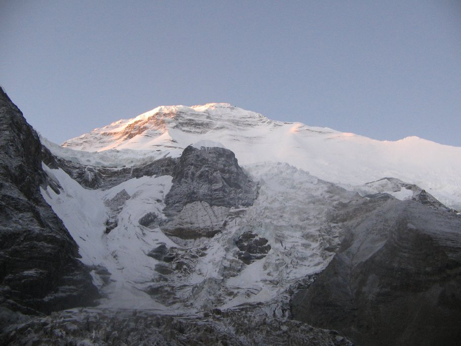 Close up view of Dhaulagiri