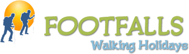 Company Logo for Footfalls Walking Holidays