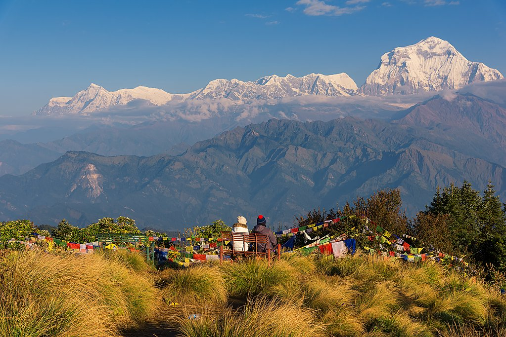 Mt. Dhaulagiri from Poon Hill, Lower Annapurna Region
