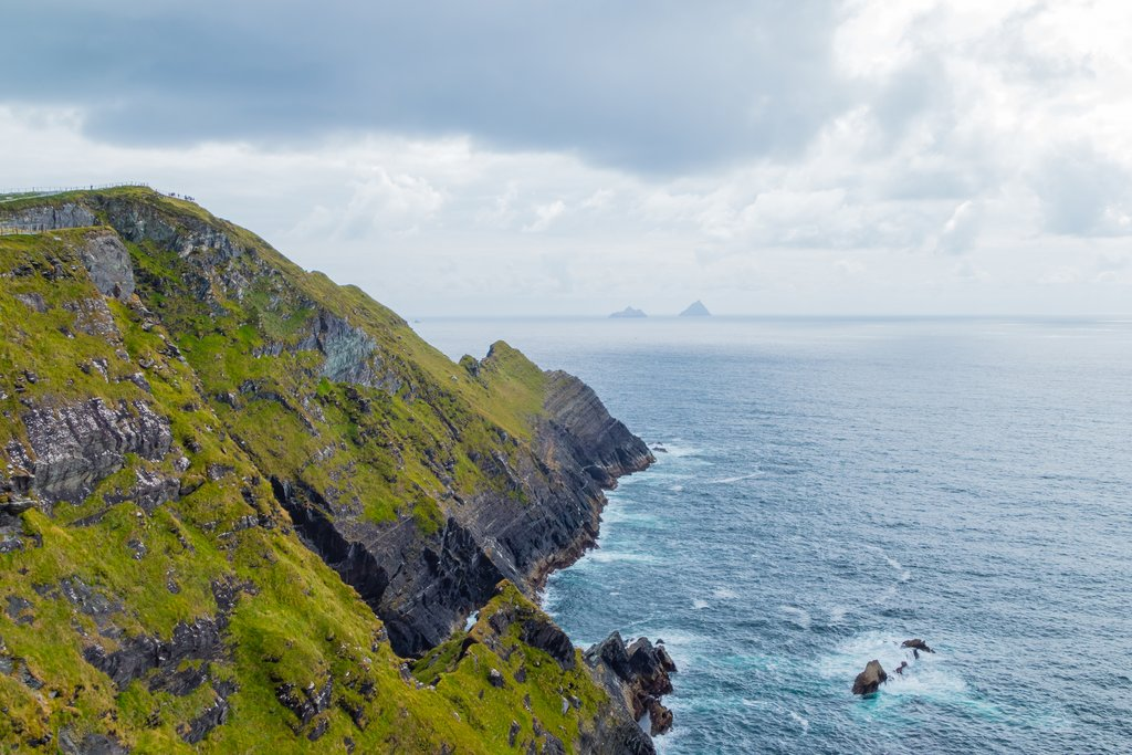 Skellig Cliffs on the Ring of Kerry
