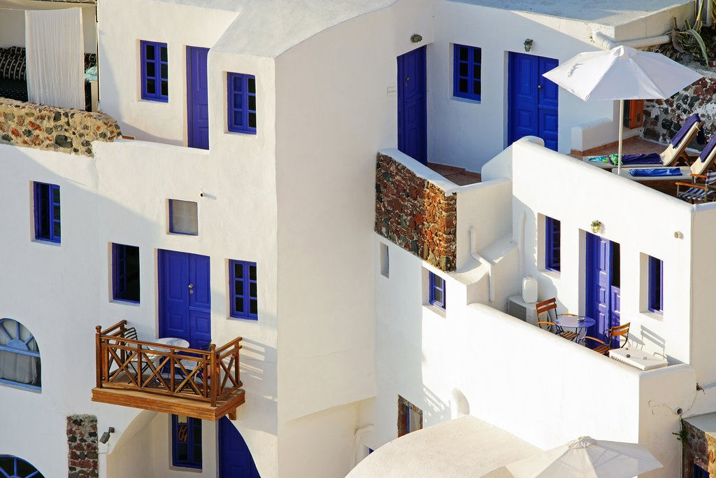 Cycladic architecture in action