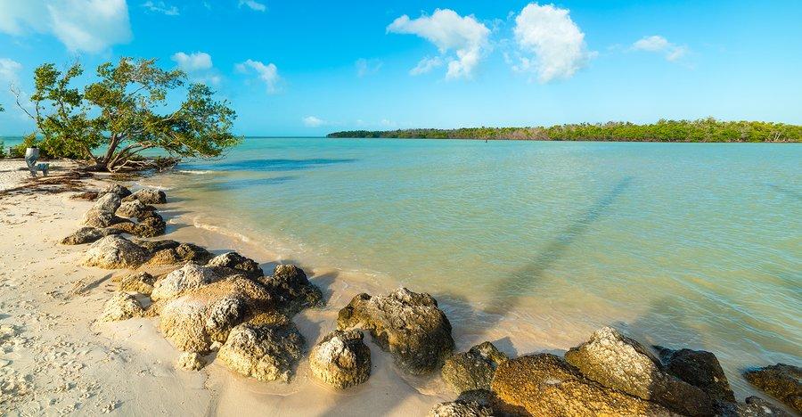 Sombrero Beach on Marathon Key