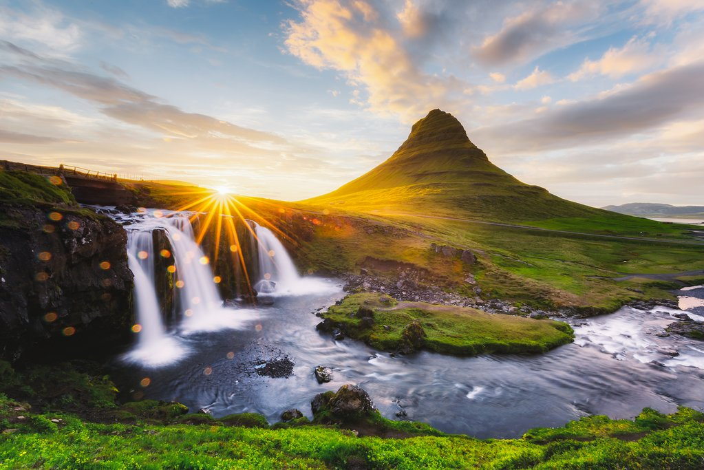 Kirkjufellsfoss waterfall, Iceland