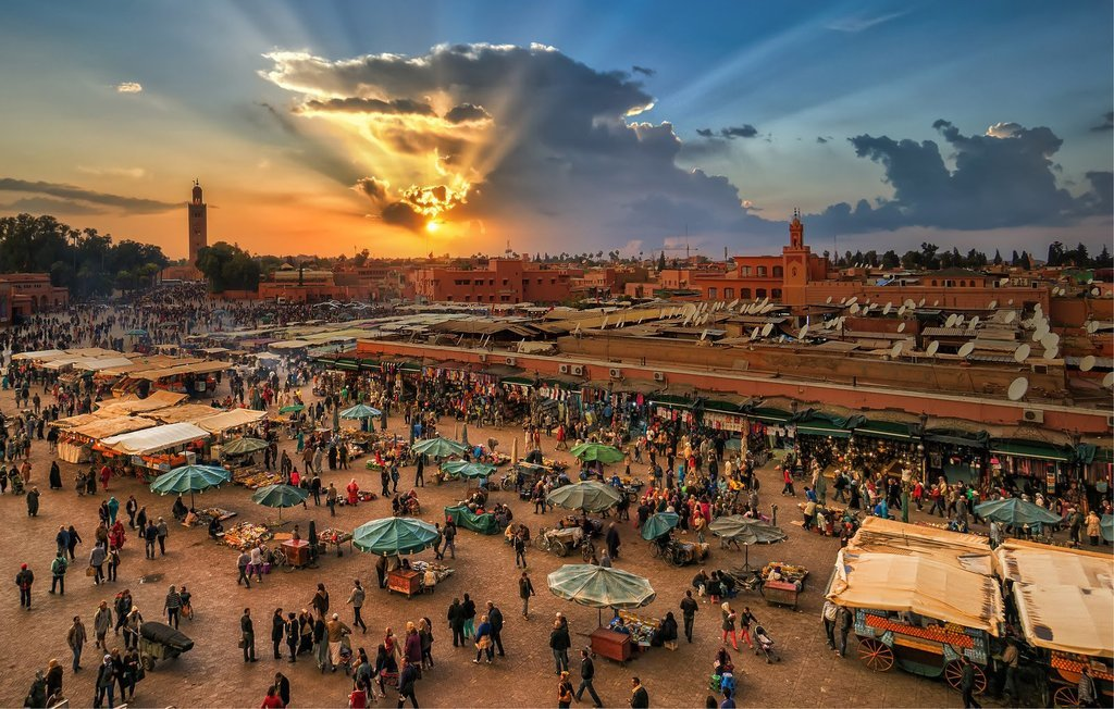 Jemaa el-Fna Square in Marrakech