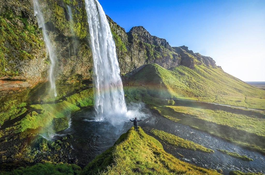 Discover waterfalls of Iceland's south coast