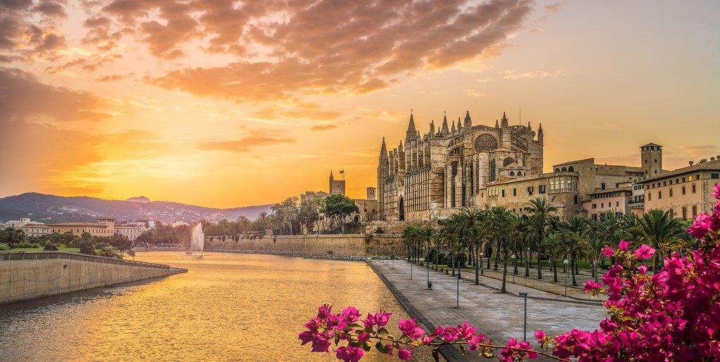 Sunset in Palma de Mallorca