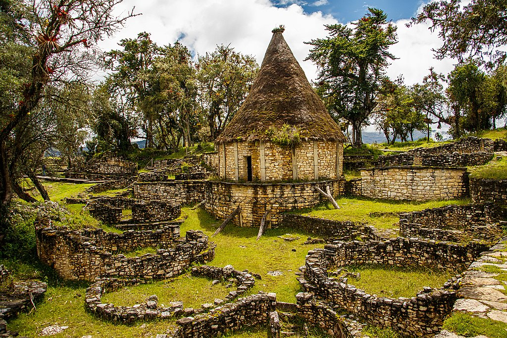 Kuelap ruins in northern Peru