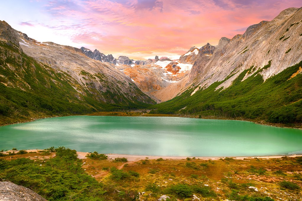 Tierra del Fuego—one of three national parks on this itinerary