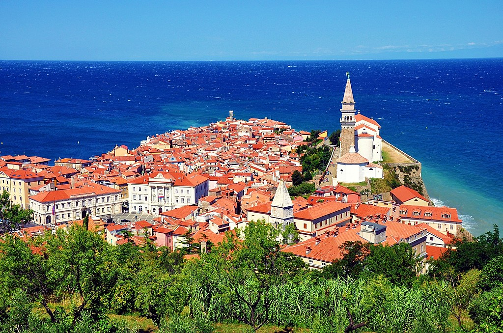 Finish the trip on Slovenia's Adriatic coast