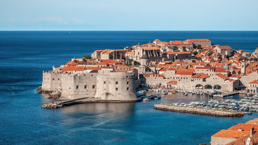 "Dubrovnik, the ""Pearl of the Adriatic"""